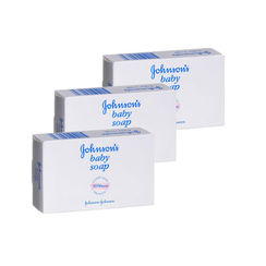 Johnsons Baby Soap Bar (Pack Of 3) (Rs. 15 off)