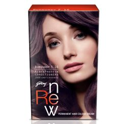 Godrej Renew Crme Hair Colour - Burgundy