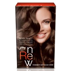 Godrej Renew Crme Hair Colour - Natural Brown