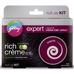 Godrej Expert Rich Crme Hair Colour Burgundy - Multi Use Kit