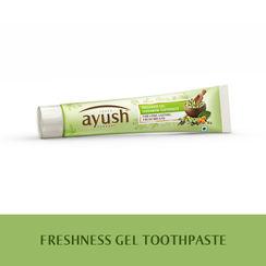 Lever Ayush Freshness Gel Cardamom Toothpaste