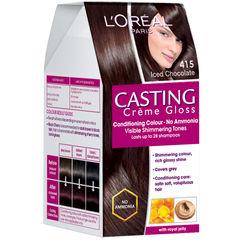 LOreal Paris Casting Creme Gloss Hair Color - 415 Iced Chocolate