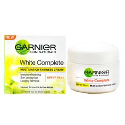 Garnier Skin Naturals White Complete Multi Action Fairness Cream SPF 17