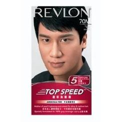 Revlon Top Speed Hair Color Man- Natural Black