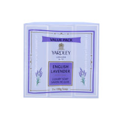 Yardley English Lavender Soap(Pack of 3)