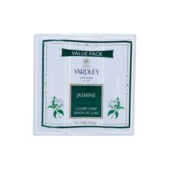 Yardley London jasmine Luxury Soap Savon Deluxe +English Rose Luxury Soap 75gm