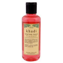 Swati Khadi With Rose & Rosewater Body Cleanser