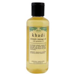 Swati Khadi Aromatic Massage Oil With Geranium Oil