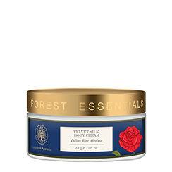 Forest Essentials Velvet Silk Body Cream Indian Rose Absolute