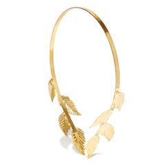 Toniq Golden Rose Gold Reversible Hair Band
