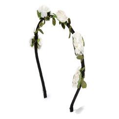 Toniq Bohemia White Flower Hair Band