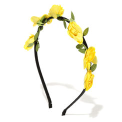 Toniq Bohemia Yellow Flower Hair Band