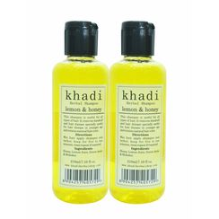 Khadi Lemon & Honey Shampoo (Pack of 2)