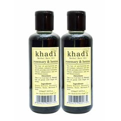 Khadi Rosemary & Heena Hair Oil (Pack of 2)