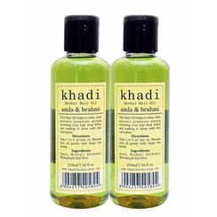 Khadi Amla & Brahmi Hair Oil (Pack of 2)