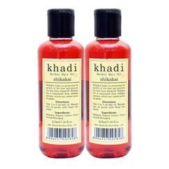 Khadi Shikakai Hair Oil (Pack of 2)