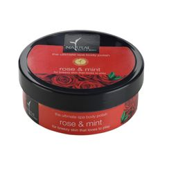 Natural Bath & Body Rose & Mint The Ultimate Spa Body Polisher