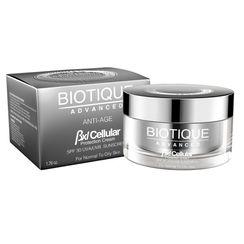 Biotique Advanced BXL Cellular Aloe Vera Protection Cream SPF 30 UVA/UVB Sunscreen