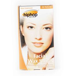 HipHop Orange Facial Wax Strips
