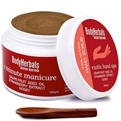 BodyHerbals Hand Scrub - 1 Minute Manicure