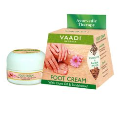 Vaadi Herbals Foot Cream With Clove & Sandal Oil