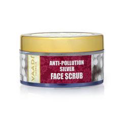 Vaadi Herbals Silver Face Scrub - Pure Silver Dust & Fenugreek