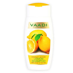 Vaadi Herbals Dandruff Defense Lemon Shampoo With Extract Of Tea Tree