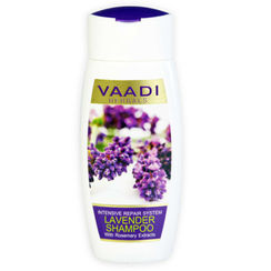 Vaadi Herbals Lavender Shampoo With Rosemary Extract - Intensive Repair System