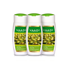 Vaadi Herbals Value Pack Of 3 Olive Conditioner With Avocado Extract