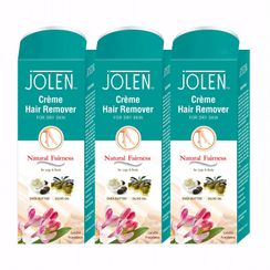 Jolen Hair Remover Cream - Sandal Pack of 3 (20% Extra)