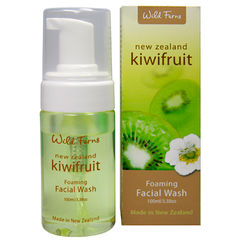 Wild Ferns Kiwifruit Foaming Facial Wash