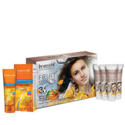 Aryanveda Fruit Secrets 3X Home Spa Kit With Spf-50 Combo Pack