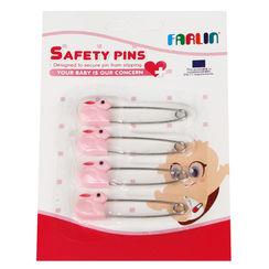 FARLIN Safety Pins (BF120 Pink) 4Pcs/Pack