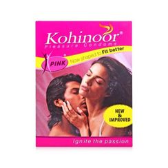 Kohinoor Pink Condoms