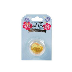 Konad Pro Nail Deco Diamond Glitter - Yellow