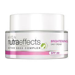 Avon Nutraeffects Brightening Daily Cream Spf 20