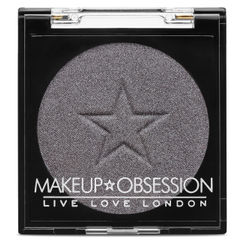 Makeup Obsession Eyeshadow - E135 Haute Silver