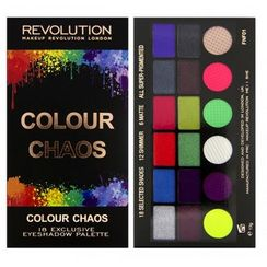 Makeup Revolution Salvation Eyeshadow Palette - Colour Chaos