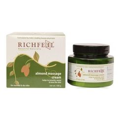 Richfeel Almond Massage Cream