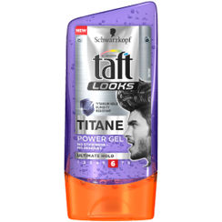 Schwarzkopf Taft All Weather Looks Titane Power Gel Ultimate Hold