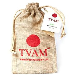TVAM Henna Natural Dark Brown Hair Color