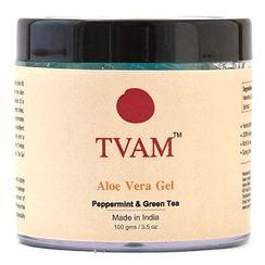 TVAM Aloevera Gel Peppermint & Green Tea