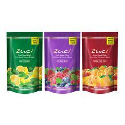 Zuci Handwash Refill Pack Of 3 (Cool Citrus Mint,Ripe Berry Blast, Tropical Fruit Twist)