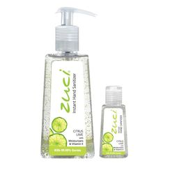 Zuci Pack Of 250 ml & 30 ml Hand Sanitizer - Citrus Lime