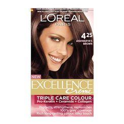 LOreal Paris Excellence Creme Hair Color - 4.25 AishwaryaS Brown