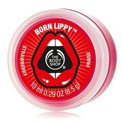 The Body Shop Born Lippy Pot Lip Balm - Strawberry