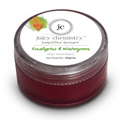 Juicy Chemistry Eucalyptus & Wintergreen (Pain Relief Balm)