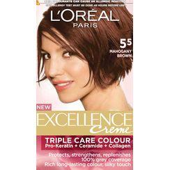 LOreal Paris Excellence Creme Hair Color - 5.5 Mahogany Brown