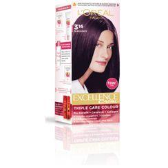 LOreal Paris Excellence Creme Hair Color - Burgundy