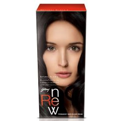 Godrej Renew Crme Hair Colour - Natural Black (50 ml)
